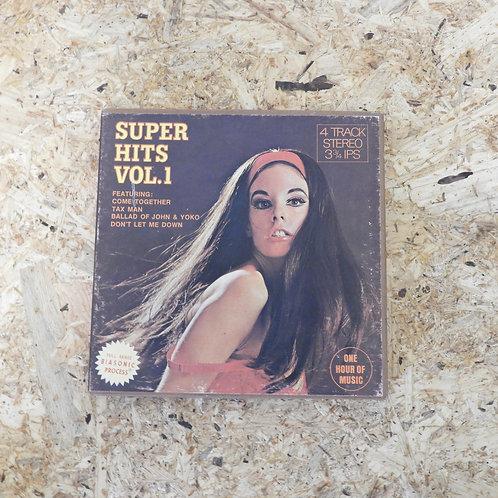 <再生確認済み>「 SUPER HITS VOL.1 V.A. 」 オープンリール 7号 ミュージック テープ