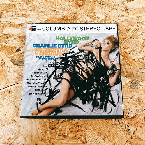 <再生確認済み>「 HOLLYWOOD BYRD / CHARLIE BYRD 」 オープンリール 7号 ミュージック テープ