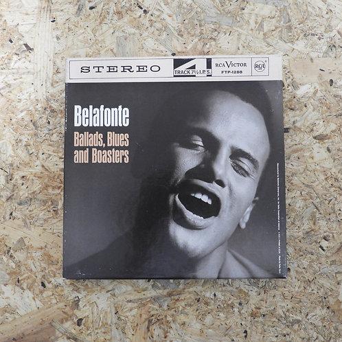 <再生確認済み>「 BALLADS, BLUES AND BOASTERS / HARRY BELAFONTE 」 オープンリール 7号 ミュージック テープ