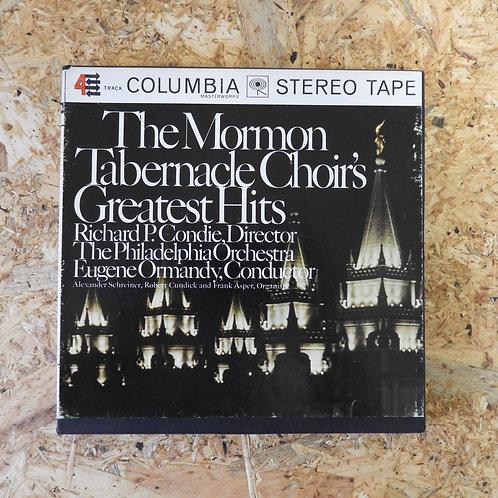 <再生確認済み>「 THE MORMON TABERNACLE CHOIR'S GREATEST HITS 」 オープンリール 7号 ミュージック テープ