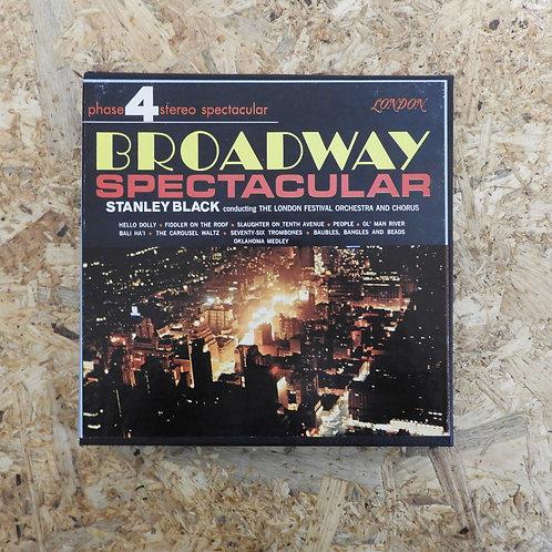 <再生確認済み>「 STANLEY BLACK / BROADWAY SPECTACULAR 」 オープンリール 7号 ミュージック テープ
