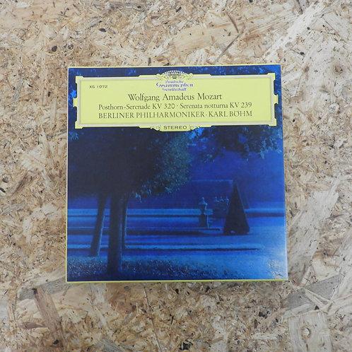 <再生確認済み>「 モーツァルト:セレナード第9番、6番 / カール・ベーム 」 オープンリール 7号 ミュージック テープ