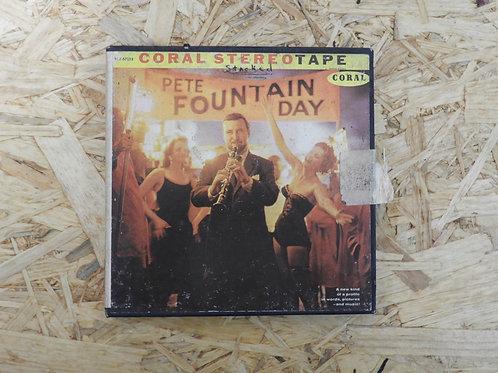 <再生確認済み>「 PETE FOUNAIN DAY / CORAL 」 オープンリール 7号 ミュージック テープ