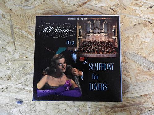<再生確認済み>「 SYMPHONY FOR LOVERS 」 オープンリール 7号 ミュージック テープ
