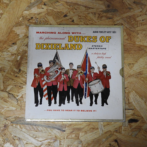<再生確認済み>「 MARCHING ALONG WITH THE PHENOMENAL DUKES OF DIXIELAND 」 オープンリール 7号 ミュー