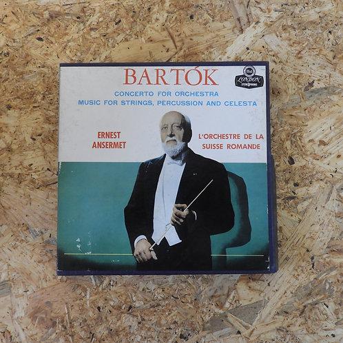 <再生確認済み>「 BARTOK / CONCERTO FOR ORCHESTRA 」 バルトーク オープンリール 7号 ミュージック テープ