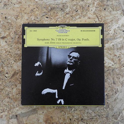 <再生確認済み>「 シューベルト:交響曲第7(9)番 / カール・ベーム 」 オープンリール 7号 ミュージック テープ