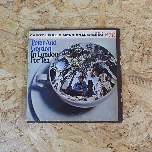 <再生確認済み>「 IN LONDON FOR TEA / PETER & GORDON 」 オープンリール 7号 ミュージック テープ