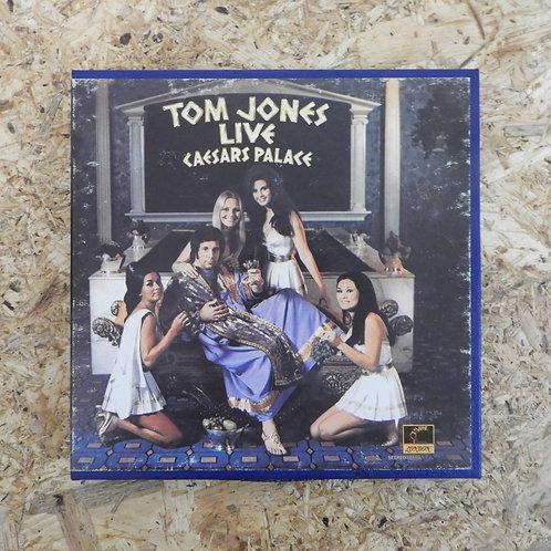<再生確認済み>「 TOM JONES LIVE : CAESARS PALACE 」 オープンリール 7号 ミュージック テープ