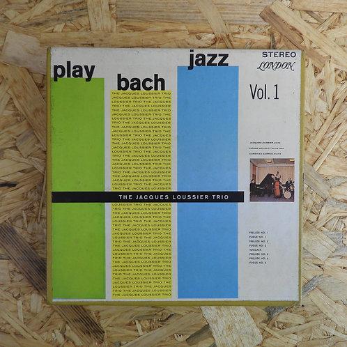 <再生確認済み>「 PLAY BACH JAZZ VOL.1 」 オープンリール 7号 ミュージック テープ
