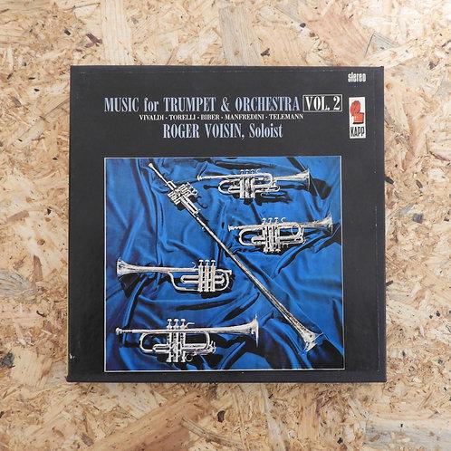 <再生確認済み>「 MUSIC FOR TRUMPET AND ORCH. VOL2 ROGER VOISIN 」 オープンリール 7号 ミュージック テープ