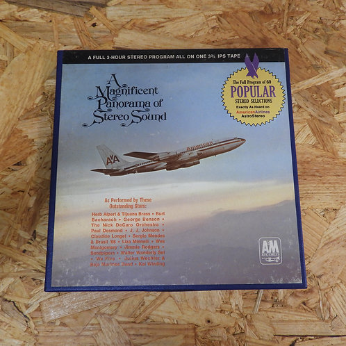 <再生確認済み>「 AMERICAN AIRLINES ASTROSTEREO POPULAR PROGRAM NO.60 」 V.A. オープンリール 7号