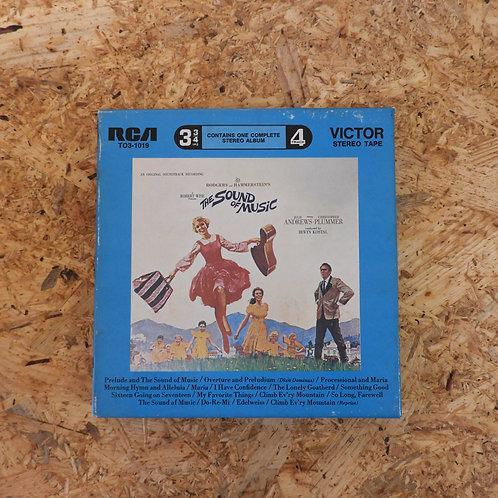 <再生確認済み>「 THE SOUND OF MUSIC - AN ORIGINAL SOUNDTRACK RECORDING 」 オープンリール 7号 ミュー