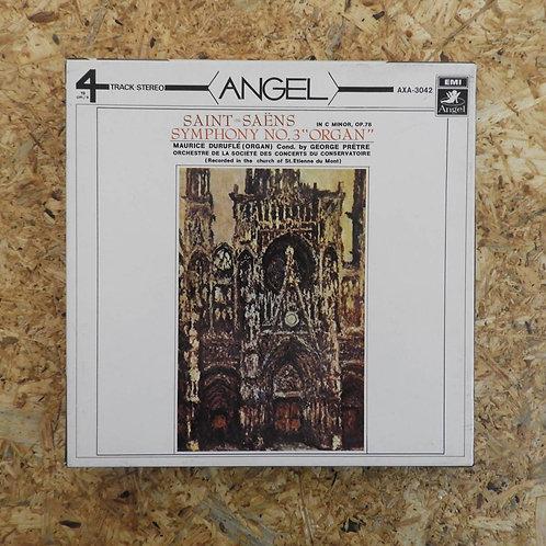 <再生確認済み>「 サン=サーンス:交響曲第3番 オルガン付 / ジョルジュ・プレートル 」 オープンリール 7号 ミュージック テープ