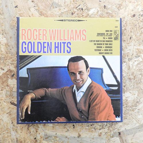 <再生確認済み>「 ROGER WILLIAMS / GOLDEN HITS 」 オープンリール 7号 ミュージック テープ