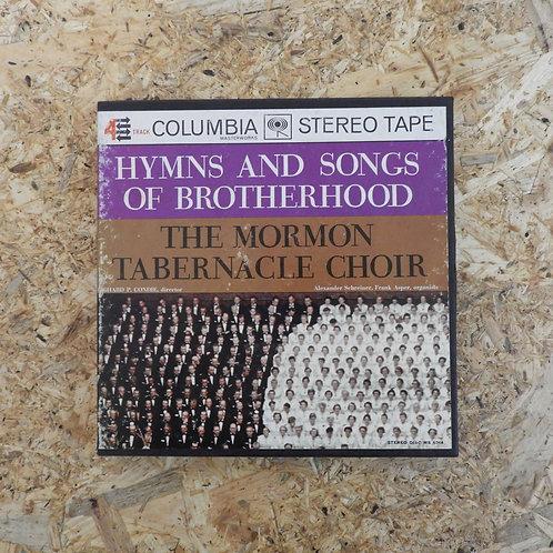 <再生確認済み>「 HYMNS AND SONGS OF BROTHERHOOD THE MORMON TABERNACLE CHOIR 」 オープンリール 7