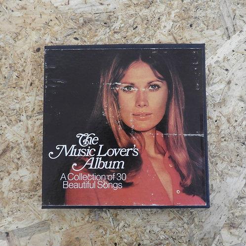 <再生確認済み>「 THE MUSIC LOVER'S ALBUM / A COLLECTION OF 30 BEAUTIFUL SONGS 」 オープンリール