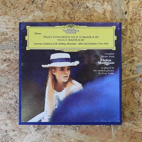 <再生確認済み>「 MOZART PIANO CONCERTOS NO.17&21 」 オープンリール 7号 ミュージック テープ
