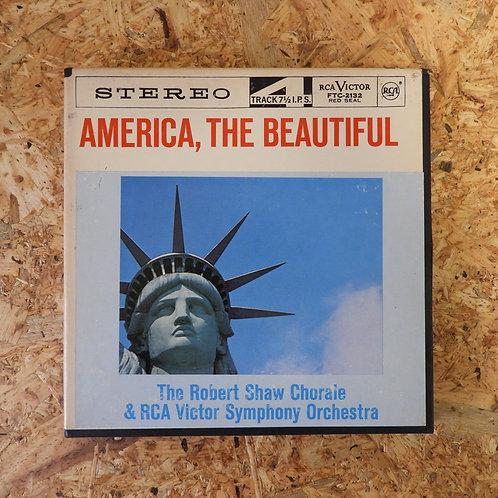 <再生確認済み>「 AMERICA THE BEAUTIFUL / ROBERT SHAW CHORALE  」 オープンリール 7号 ミュージック テープ