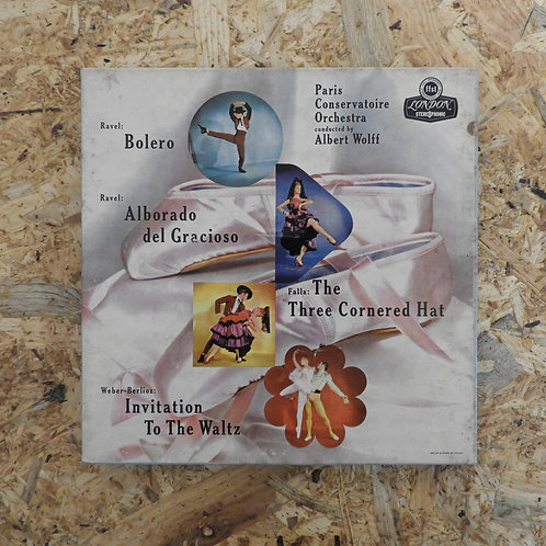 <再生確認済み>「 RAVEL FALLA WEBER BERLIOZ 」 オープンリール 7号 ミュージック テープ
