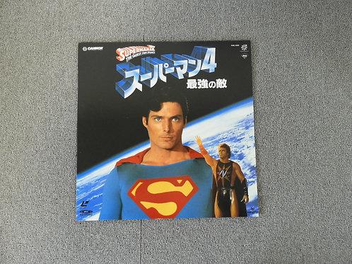 レーザーディスク スーパーマン4 最強の敵