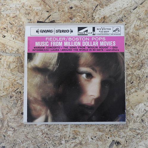 <再生確認済み>「 MUSIC FROM MILLION MOVIE / ARTHUR FIEDLER 」 オープンリール 7号 ミュージック テープ