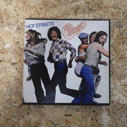 <再生確認済み>「 HOT STREETS / CHICAGO  」 オープンリール 7号 ミュージック テープ
