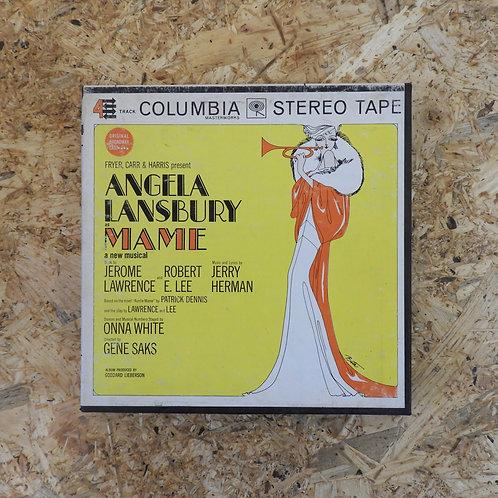 <再生確認済み>「 ANGELA LANSBURY AS MAME 」 オープンリール 7号 ミュージック テープ