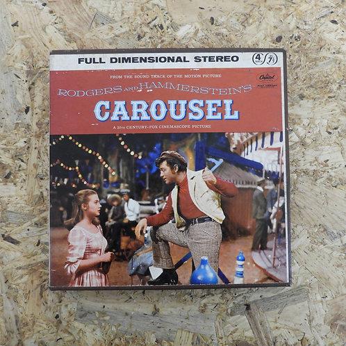 <再生確認済み>「 CAROUSEL / SOUNDTRACK 」 オープンリール 7号 ミュージック テープ
