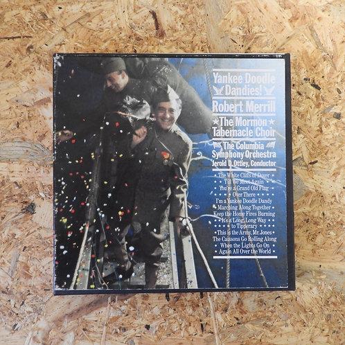 <再生確認済み>「 YANNKEE DOODLE DANDIES! / ROBERT MERRILL 」 オープンリール 7号 ミュージック テープ