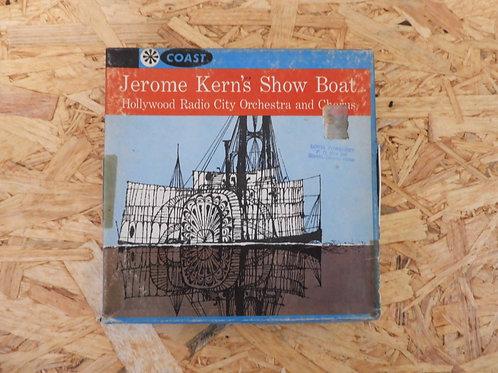 <再生確認済み>「 JEROME KERN'S SHOW BOAT 」 オープンリール 7号 ミュージック テープ