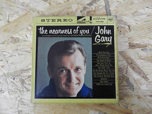 <再生確認済み・訳あり品>「 THE NEARNESS OF YOU / JOHN GARY 」 オープンリール 7号 ミュージック テープ