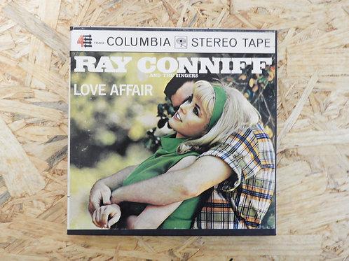 <再生確認済み>「 LOVE AFFFAIR / RAY CONNIFF 」 オープンリール 7号 ミュージック テープ