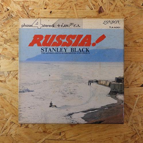 <再生確認済み>「 大いなるロシア / スタンリー・ブラック 」 オープンリール 7号 ミュージック テープ