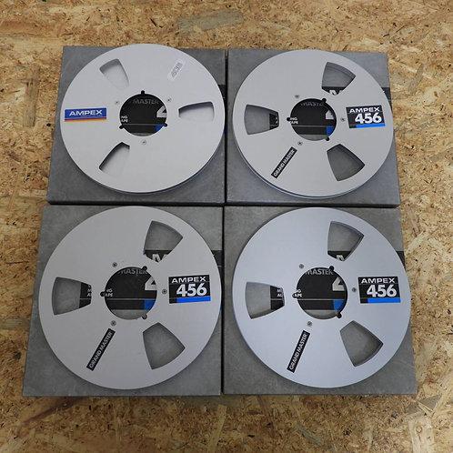 <状態未チェック> オープンリール テープ 10号 メタルリール 4本セット! 095