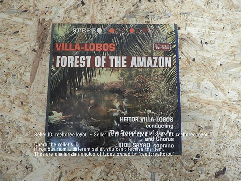 VILA-LOBOS FOREST OF THE AMAZON
