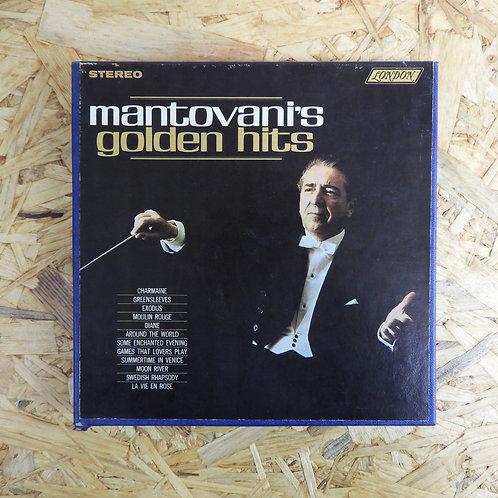 <再生確認済み>「 MANTOVANI`S GOLDEN HITS 」 オープンリール 7号 ミュージック テープ