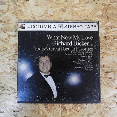 <再生確認済み>「 WHAT NOW MY LOVE / RICHARD TUCKER 」 オープンリール 7号 ミュージック テープ
