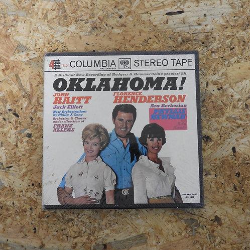 <未開封!>「 RODGERS & HAMMERSTEIN'S OKLAHOMA! 」 オープンリール 7号 ミュージック テープ