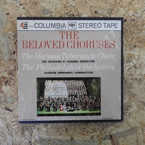 <再生確認済み>「 THE BELOVED CHORUSES / EUGENE ORMANDY 」 オーマンディ オープンリール 7号 ミュージック テープ