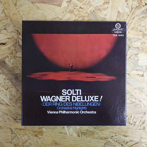 <再生確認済み>「 ジョルティ・ワーグナー・デラックス! 」 オープンリール 7号 ミュージック テープ