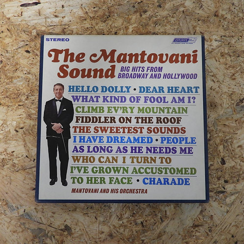 <再生確認済み>「 THE MANTOVANI SOUND : BIG HITS FROM BROADWAY AND HOLLYWOOD 」 マントヴァーニ オ