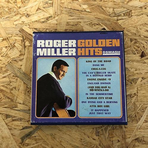 <再生確認済み>「 ROGER MILLER GOLDEN HITS 」 オープンリール 7号 ミュージック テープ