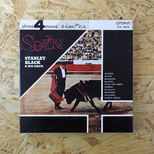 <再生確認済み>「 SPAIN / STANLEY BLACK AND HIS ORCH. 」 オープンリール 7号 ミュージック テープ