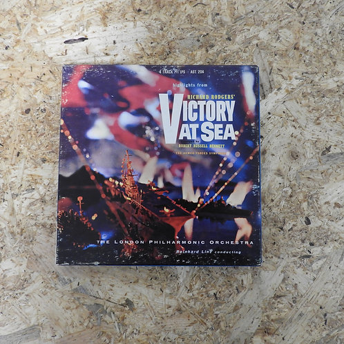 <再生確認済み>「 RODGERS : VICTORY AT SEA / REINHARD LINZ 」 オープンリール 7号 ミュージック テープ