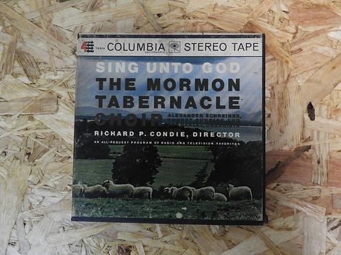 <再生確認済み>「 SING UNTO GOD / THE MORMON TABERNACLE CHOIR 」 オープンリール 7号 ミュージック テープ