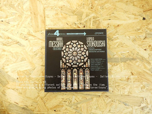 HANDEL : MESSIAH / LEOPOLD STOKOWSKI