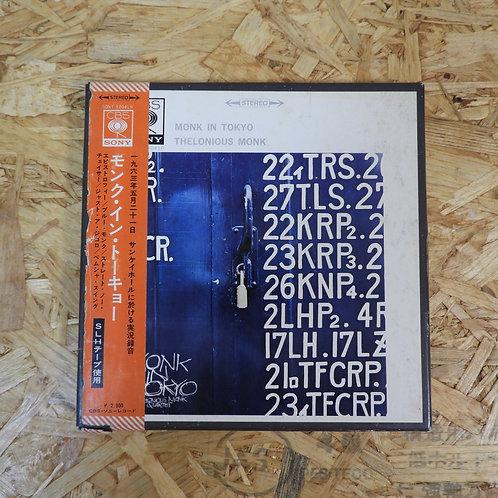 <再生確認済み>「 モンク・イン・トーキョー / セロニアス・モンク 」 THELONIOUS MONK オープンリール 7号 ミュージック テープ
