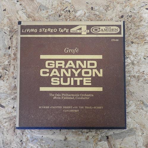 <再生確認済み>「 GROFE : GRAND CANYON SUITE / エイフィン・フィエルスター 」 オープンリール 7号 ミュージック テープ