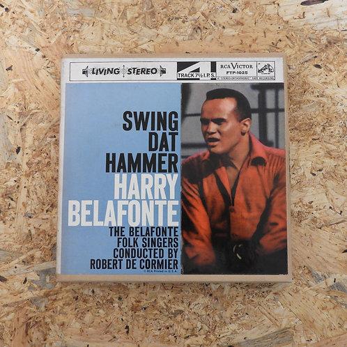 <再生確認済み>「 SWING DAT HAMMER / HARRY BELAFONTE 」 オープンリール 7号 ミュージック テープ